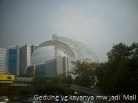 Gedung yg kayanya mw jadi Mall
