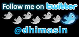 follow @dhimasln twitter