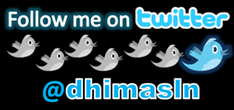 follow @dhimasln twitter