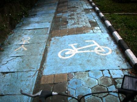 Human way, Bike way